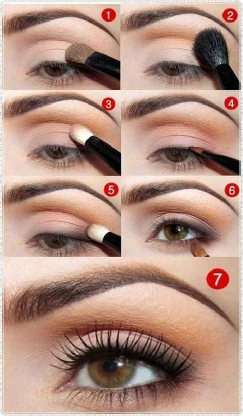tutorial on eyeshadow for brown eyes daytime eye makeup for brown eyes beauty tutorials