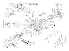poulan 260 pro parts list and diagram ereplacementparts