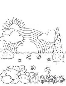 printable coloring pages rainbow free coloring pages of rainbow magic