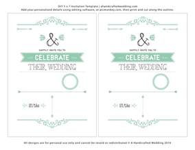 Free Printable Wedding Invitation Templates by Free Wedding Invitations Templates Theruntime