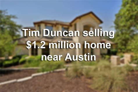tim duncan house tim duncan selling 1 2 million home near austin san antonio express news