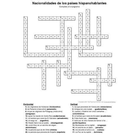 preguntas y respuestas worksheet answers nacionalidades de los pa 237 ses hispanohablantes la p 225 gina