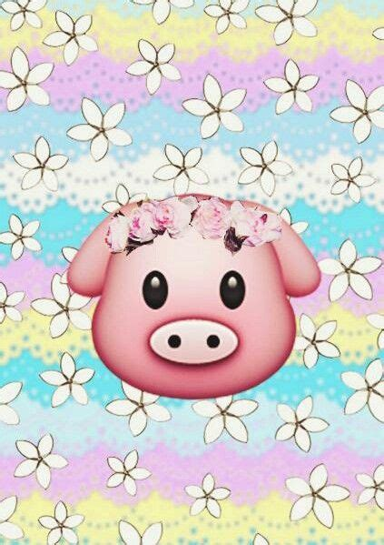 wallpaper for iphone pig 43 best emojis images on pinterest backgrounds