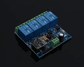 dc  esp wifi  channel relay module remote control
