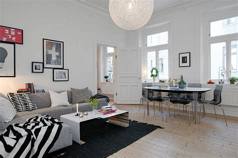 swedish apartment boasts exciting mix of and new