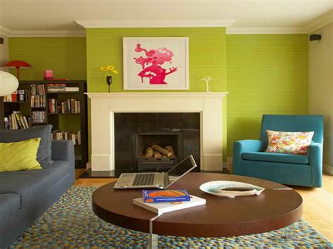 lime green living room ideas with blue sofa home