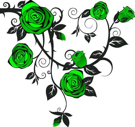 rose green a free images at clker com vector clip art
