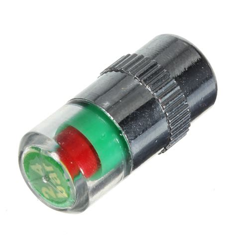 Indicator Trucker Cap 36 psi tire pressure indicator valve stem cap led
