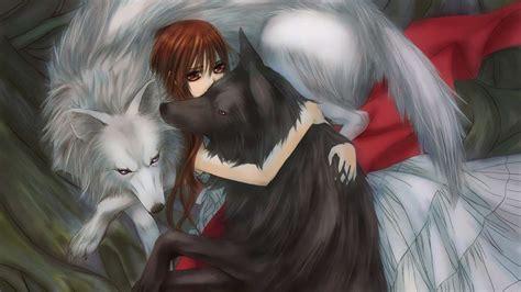 imagenes de anime wolves descargar la imagen en tel 233 fono anime lobos chicas