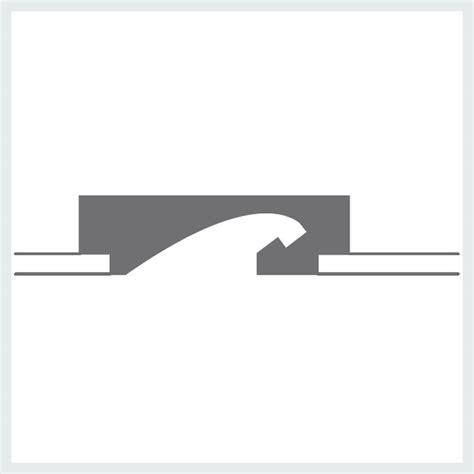 nobili illuminazione profilo per illuminazione in gesso da incasso p2 linea