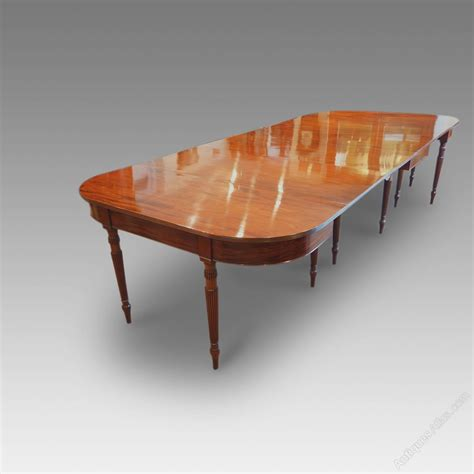 12 Seat Dining Table Antique Mahogany 12 Seat Gillow Dining Table Antiques Atlas