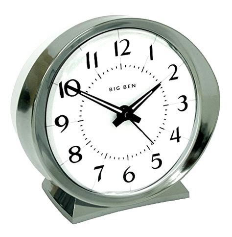 westclox 10611qa quartz analog white big ben alarm clock 689992063523 ebay