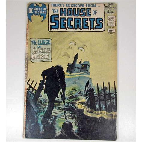 house of secrets a novel books dc house of secrets comic book 25 cent cover 52 pages