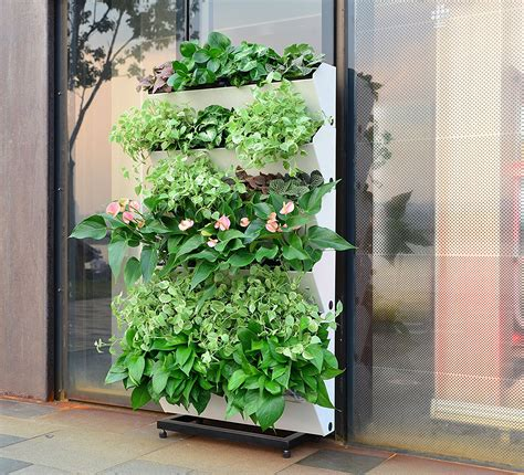 self watering vertical planters see these self watering planter options and ideas