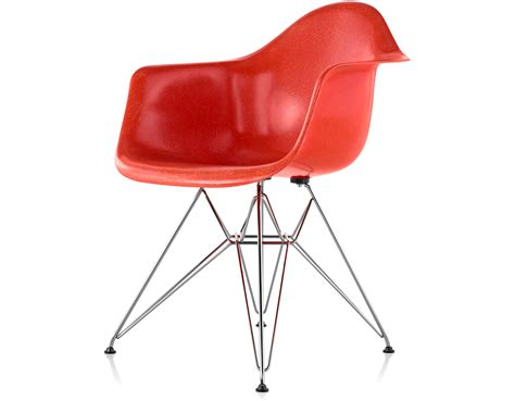 Wire Armchair by Eames 174 Molded Fiberglass Armchair With Wire Base
