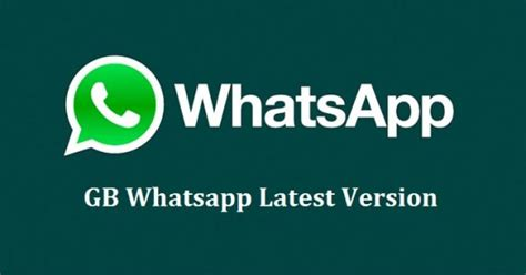 gb whatsapp messenger gb whatsapp version