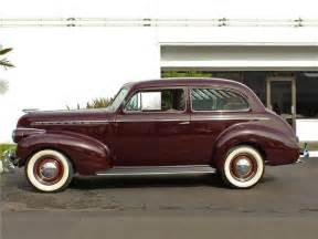 1940 chevrolet special deluxe 2 door town sedan side profile