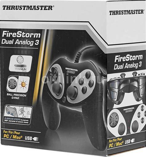 Thurstmaster Firestorm Dual Analog 3 Pc thrustmaster firestorm dual