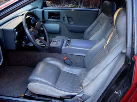 Pontiac Fiero Interior by 504 Gateway Timeout