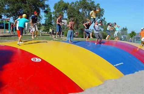 Jumping Pillow by Jumping Pillow Playground Equipment