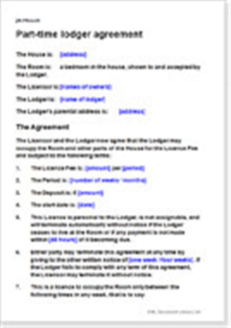 free lodger agreement template lodger agreements a template to let a spare room