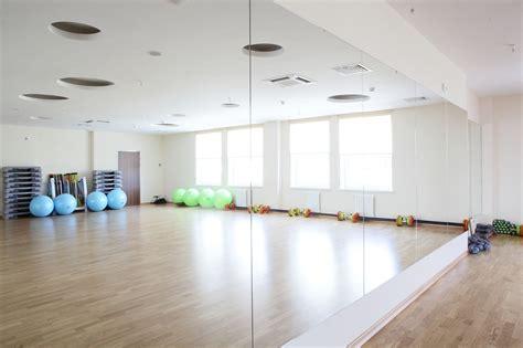 gym mirrors dance studio mirrors glass ninja