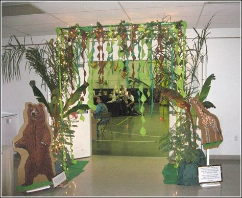 jungle theme decorations 17 best images about vbs 2015 on