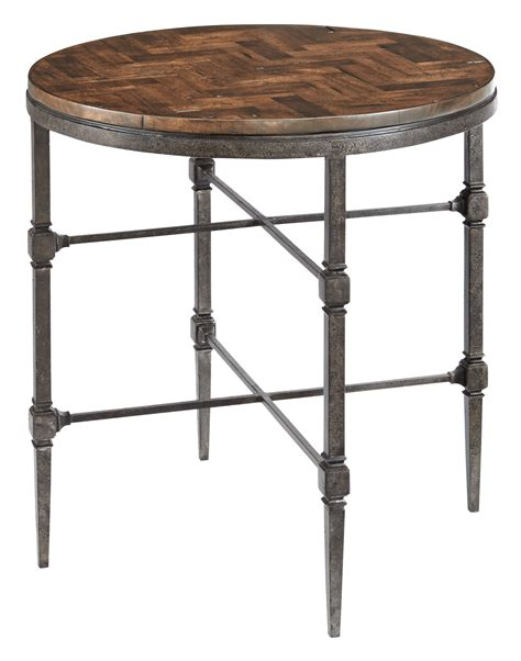 metal end table end table with wood top and metal base bernhardt