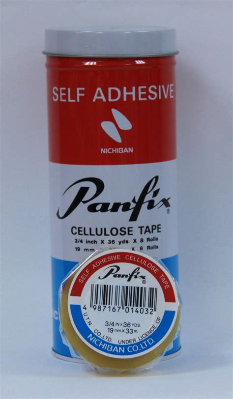 Panfix 1 Inch panfix 3 4 quot x 36 yds adhesive type wah chit