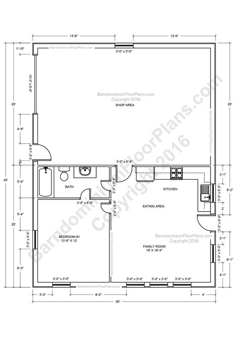 planning floor plan barndominium floor plans for planning your barndominium