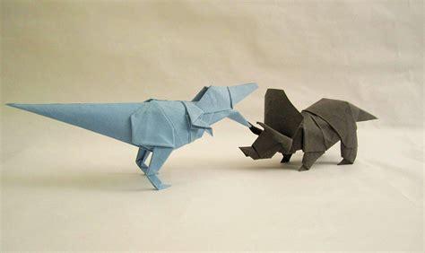 Triceratops Origami - origami dinosaur triceratops www pixshark images