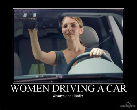boat driving captions truths about women drivers tipped car guff