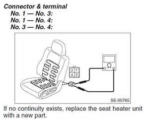 subaru heated seat wiring diagram subaru seat free wiring diagrams