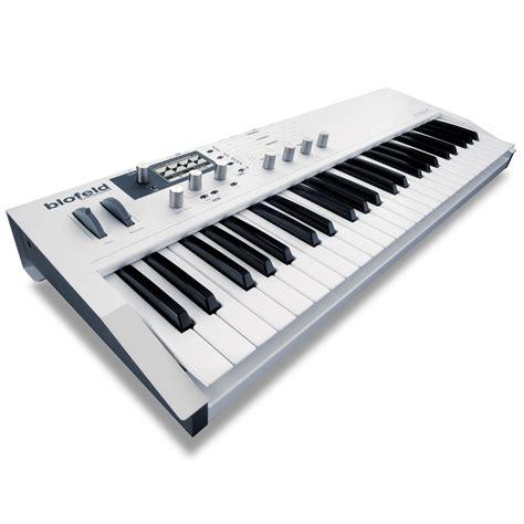 Keyboard Synthesizer waldorf blofeld keyboard synthesizer white dv247