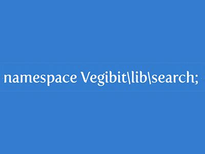 pattern namespace php namespaces tutorial vegibit