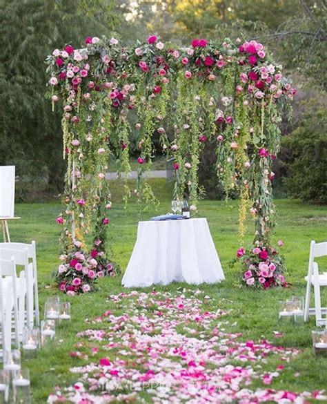 Wedding Design Ideas by 30 Best Floral Wedding Altars Arches Decorating Ideas