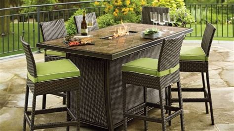 bar height pit table bar height pit table set pit ideas