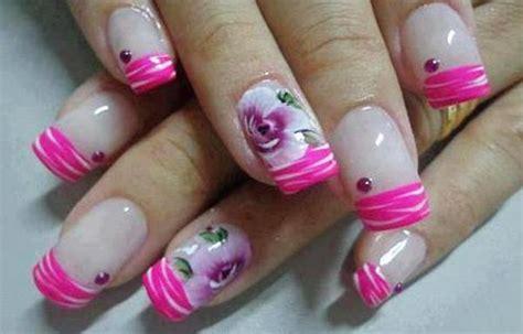 imagenes uñas pintadas flores dise 241 os de u 241 as con rosas u 241 asdecoradas club