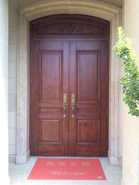 Wholesale Exterior Doors Factory Wholesale Exterior Villa Door For Sale Fancy Wood Door Design Buy Exterior Villa Door