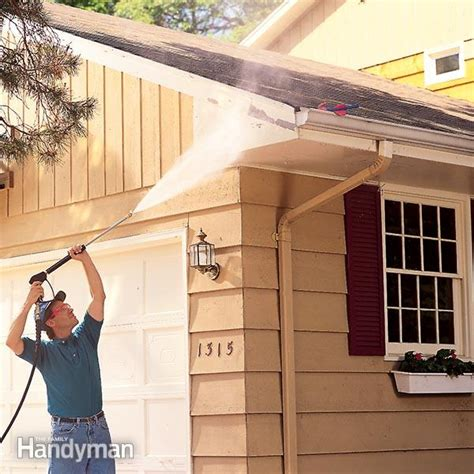 pressure wash house how to pressure wash a house the family handyman