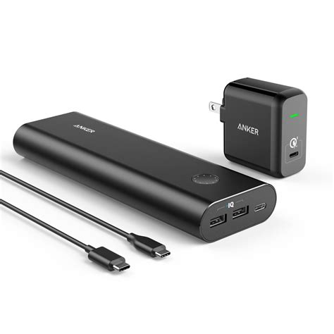 anker usb charger anker powercore 20100mah portable charger with usb c