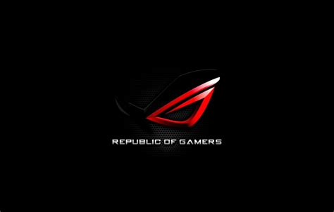 republic of gamers wallpaper high resolution asus rog new logo hd wallpaper high definitions wallpapers