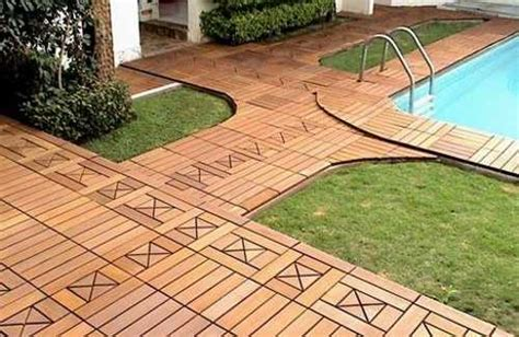 Backyard Tile Ideas 22 Composite Flooring Ideas To Bring Contemporary Style Into Outdoor Rooms
