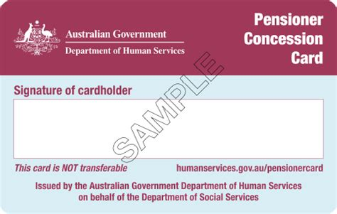 concessions business card template approved commonwealth concession cards state revenue office
