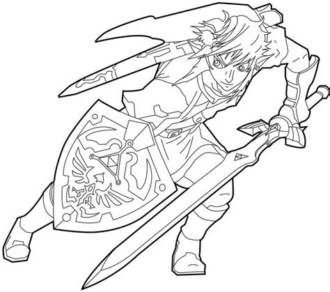 free printable zelda coloring pages http malvina hubpages com hub free zelda coloring pages