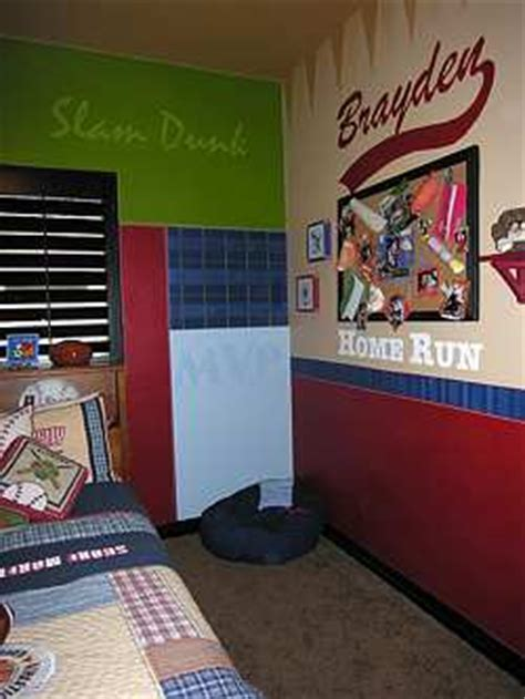 Boys Room Themes Decorating Ideas Raftertales Home Boys Bedroom Decorating Ideas Sports 2