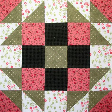 Quilt Blocks by Starwood Quilter Bookworm Quilt Block