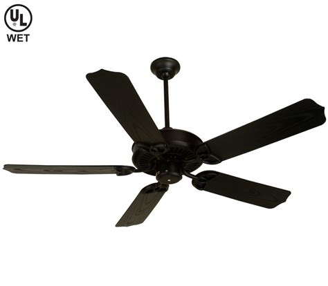 black fan with light black ceiling fan with light
