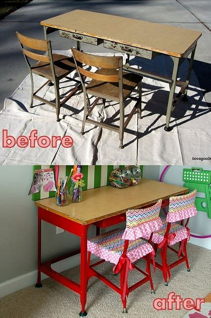 17 best ideas about vintage school desks on