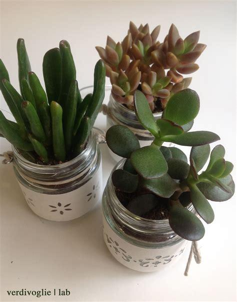 vasi di vetro decorati vasi di vetro decorati con le piante grasse succulents